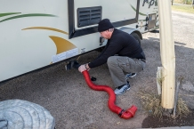 Barry with Hose